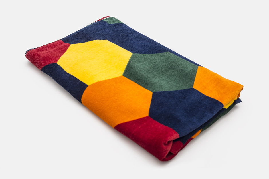 Hexagon towel