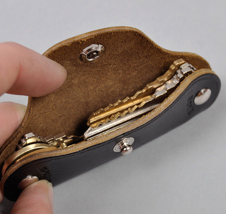 Compact Leather Key Cases : Phigvel-Makers Co. Leather Key Holder