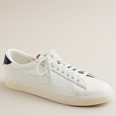 Men's shoes - sneakers - NikeR for J.Crew Vintage Collection leather Tennis Classic AC sneakers - J.Crew