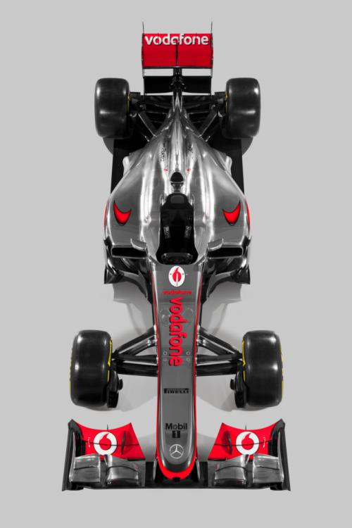 McLaren MP4-27 unveiled for 2012 F1 season - Photos