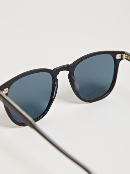 Garrett Leight California Optical Men's Brooks Matte Black Sunglasses | LN-CC