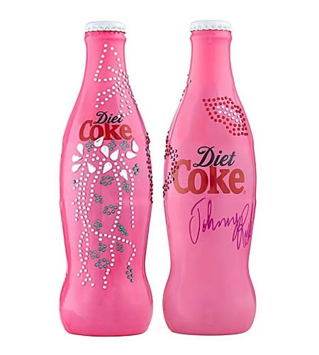 Coca ' Cola / Limited Edition Diet Coke Bottle
