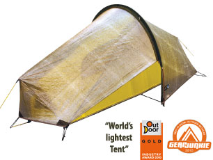 Buy Online - Laser Ultra 1 Tent. New model for Spring 2011. The lightest double-wall shelter in the world! Can sleep two for adventure races.