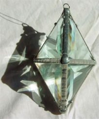 Double Pyramid Rainbow Water Prism