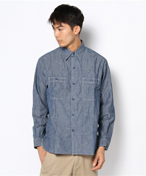 商品詳細 - BUZZ RICKSON'S / Chambray Work / BEAMS(ビームス)|ビームス公式通販[BEAMS Online Shop]