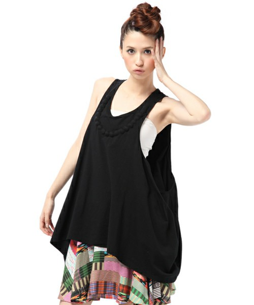 ANREALAGE / ■BLISTER PEAPL TANK TOP(タンクトップ) - ZOZOTOWN