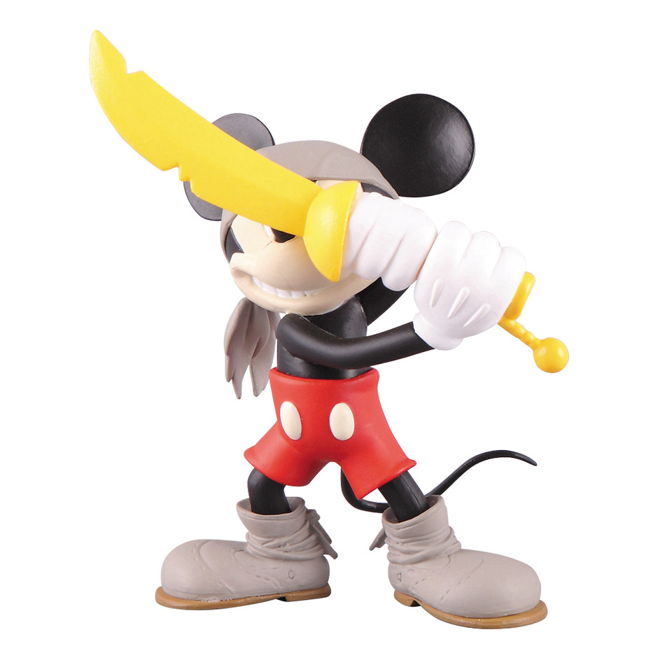 MEDICOM TOY - UDF MICKEY MOUSE (Roen collection) PIRATE MICKEY