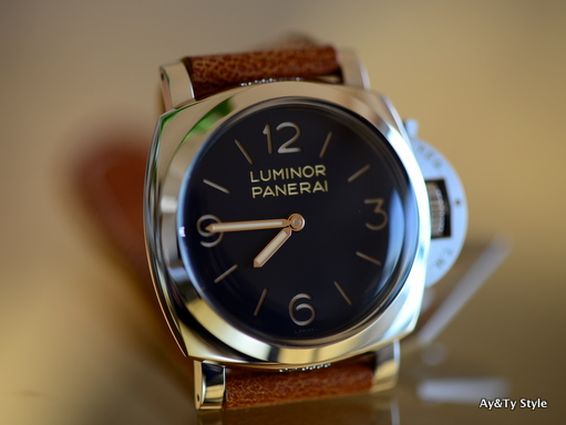 PAM372 is the point of PANERAI's arrival: Ay&Ty Style