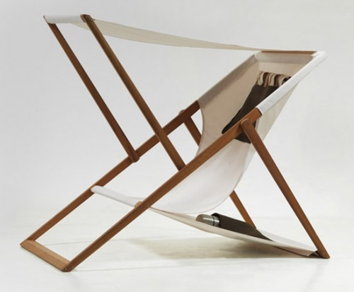 Modern Furniture : X-Y Deck Chair by Numen / For Use | Interior Design Ideas, Tips & Inspiration