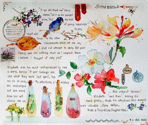 watercolor | Creative - Journals