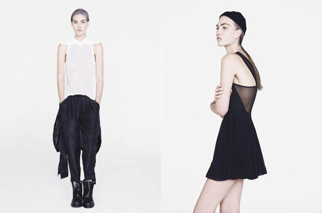 Dion Lee Line II AW12 Lookbook | Oyster Magazine