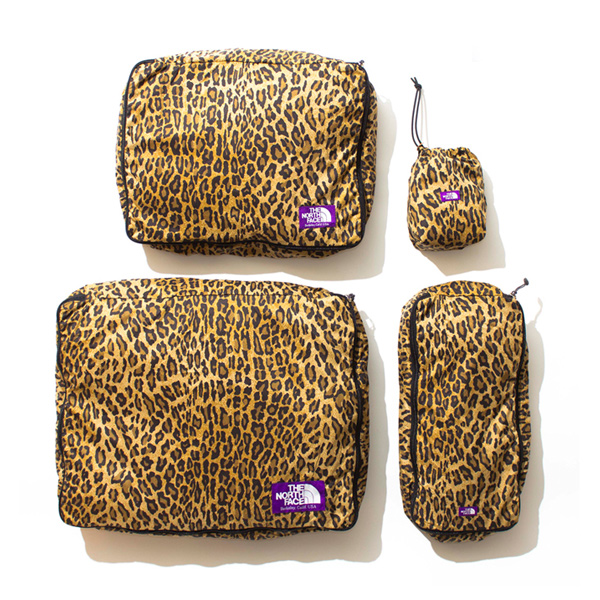 THE NORTH FACE PURPLE LABEL 30D PERTEX Leopard Print Packing Cases LE LEOPARD - MENS APPARELBAGOTHERS - |atmos [スニーカーセレクトショップのアトモス]