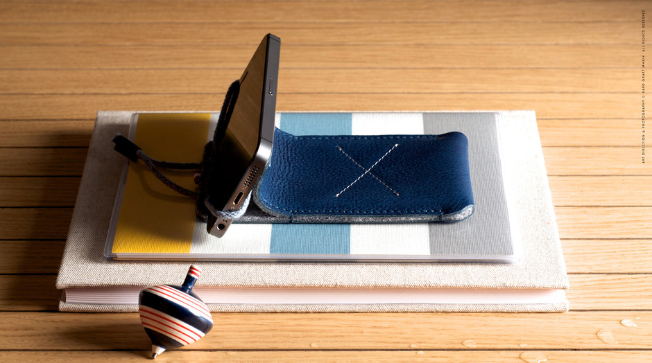 Draw iPhone Case & Stand / Ocean | hard graft