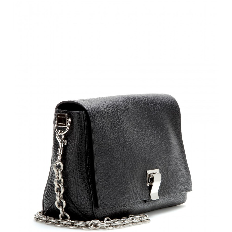 mytheresa.com - PS Courier Small leather shoulder bag - Current week - New Arrivals - Luxury Fashion for Women / Designer clothing, shoes, bags