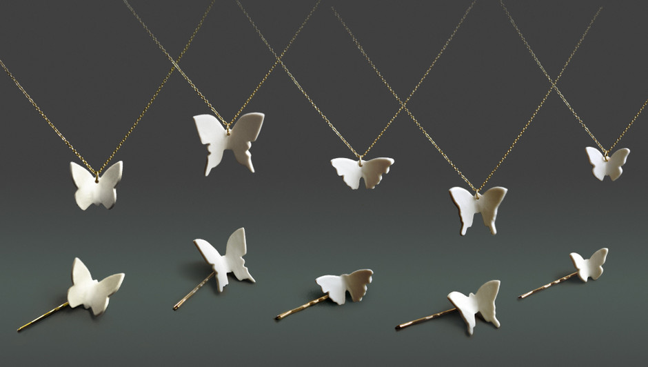 Luna & Curious — Butterfly Necklaces