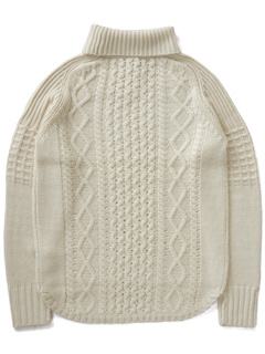 LOVE online store|MEN  Duck Tale Allan Turtleneck (ivory)