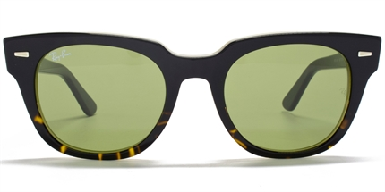Men's Ray-Ban Legends Collection Meteor Sunglasses Black Faded Havana   Red Hot Sunglasses