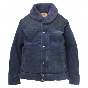 Rocky Mountain Featherbed : CHRISTY JACKET / CORDUROY NAVY