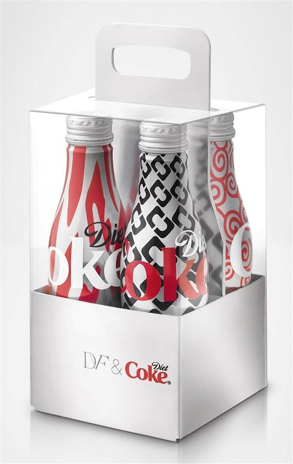 design / Diane von Fürstenberg for Diet Coke