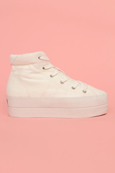 CHLOE SEVIGNY FOR OPENING CEREMONY VISION CANVAS PLATFORM SNEAKERS - WOMEN - CHLOE SEVIGNY FOR OPENING CEREMONY