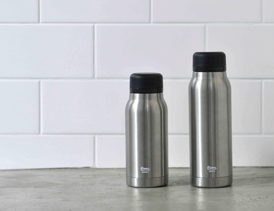 STAINLESS BOTTLE FLASKER320/420   PRODUCT   株式会社リバーズ
