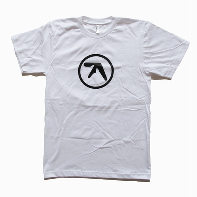 Aphex Logo White T-Shirt - Aphex Twin - Warp - Bleep.com - Your Source for Independent Music - Download MP3, WAV and FLAC, Buy Vinyl, CD and Merchandise