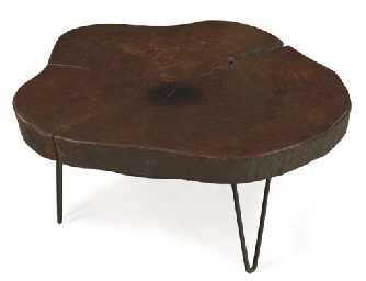 LE CORBUSIER (1887-1965) AND PIERRE JEANNERET (1896-1967) | AN INDIAN ROSEWOOD, WROUGHT-IRON AND IRON LOW TABLE, CIRCA 1960 | 20th Century Decorative Art & Design Auction</li> | Christie's