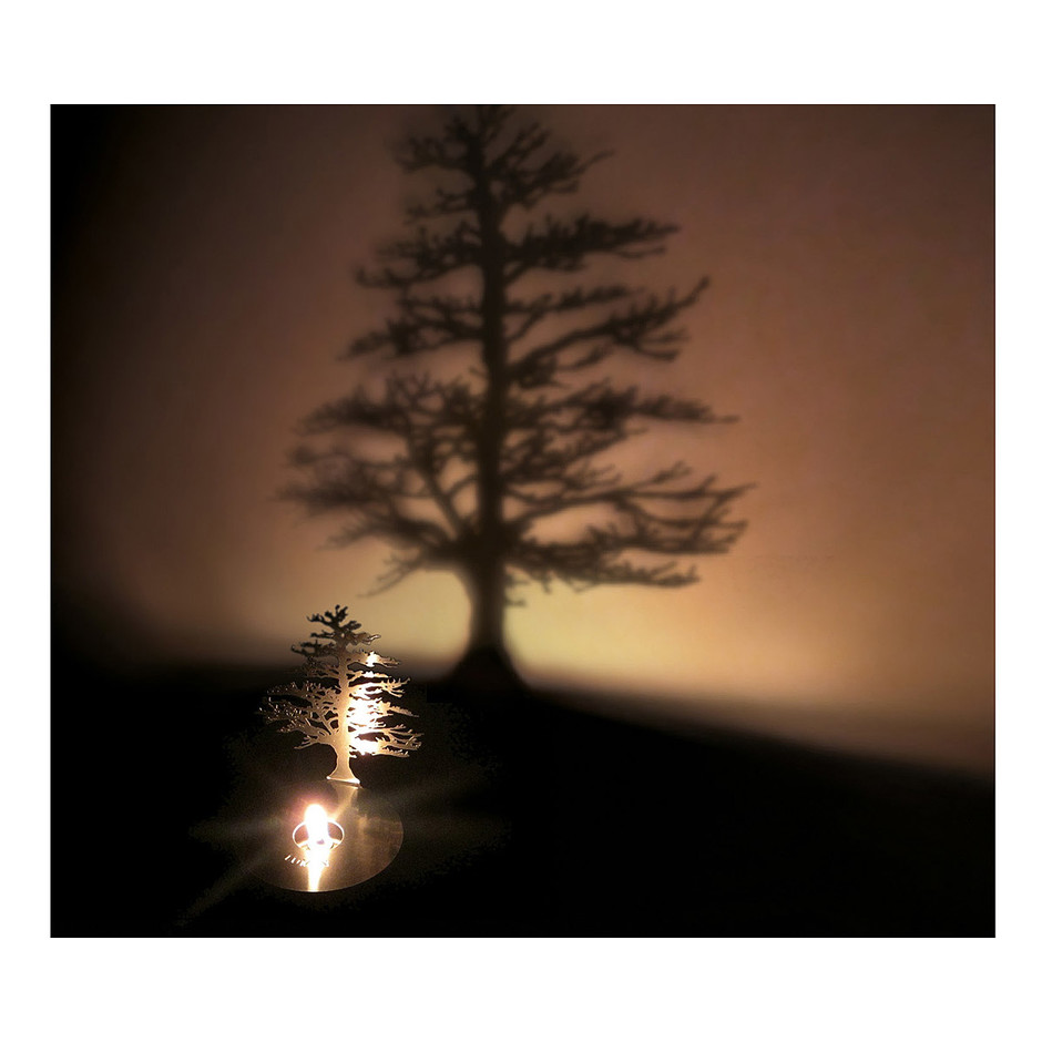 Lumen Oil Candle Shadow Projectors | oil lamp, tree shadow | UncommonGoods