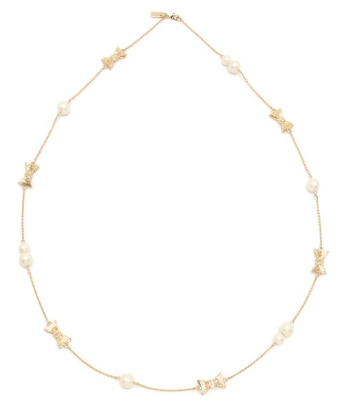 ALL WRAPPED UP PEARLS SCATTER NECKLACE (ネックレス)|kate spade new york(ケイト・スペード ニューヨーク)のファッション通販 - ZOZOTOWN