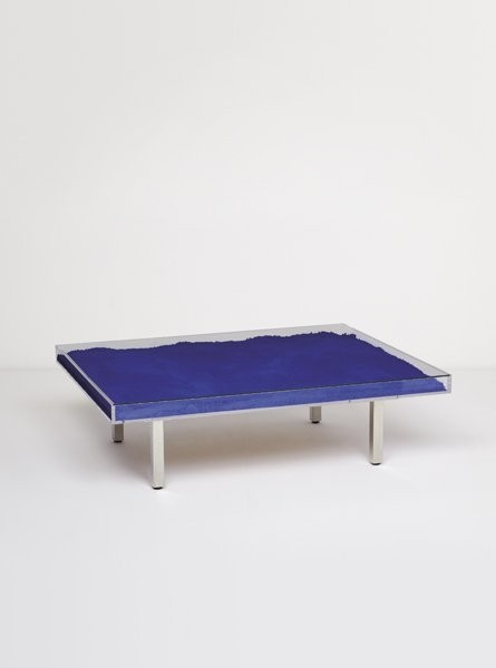 Table Bleue, Yves Klein, 1961 | AnOther Loves