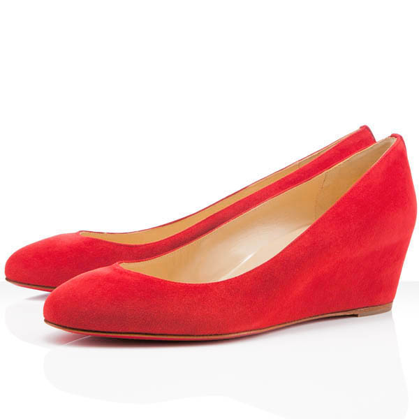 Christian Louboutin Peanut Wedge Pumps Red Christian Louboutin Peanut Wedge Pumps,Cheap Christian Louboutin [Peanut-Reds] - $169.00 : Christian Louboutin Shoes Outlet - Pumps, Heels, Sandals, Wedges, & Booties Clearance!, Christian Louboutin Womens Footwear, Boots, Evening, Flats, Pumps and Heels Shoes