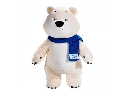 Limited edition of Sochi 2014 mascots buy in the official store