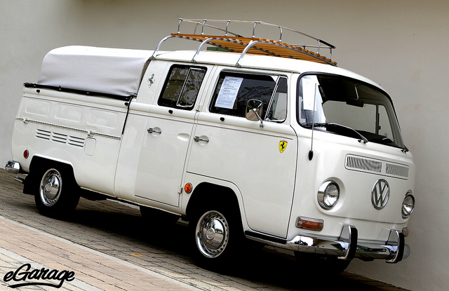 1968 Volkswagen Type 2 Double-Cab Pickup Truck | Flickr - Photo Sharing!