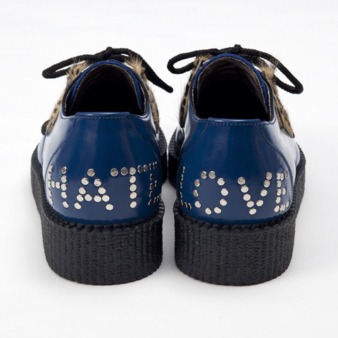 3939 Shop London | Unique product and art Underground LOVE/HATE Blue Creepers