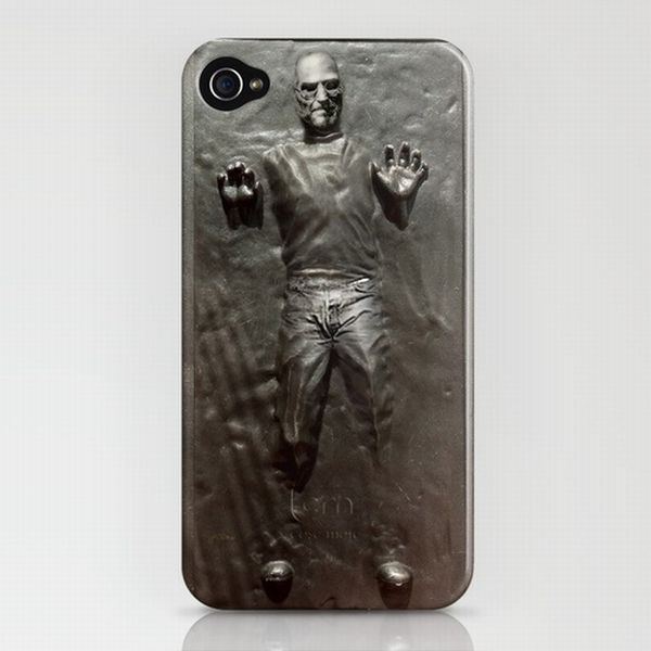 Lawyer Bait: Steve Jobs in Carbonite iPhone Case | Gadget Lab | Wired.com