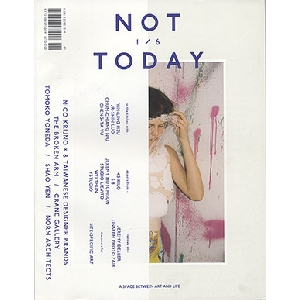 NOT TODAY issue1|書籍・音楽・文具の代官山 蔦屋書店 オンラインストア【T-SITE SHOPPING】