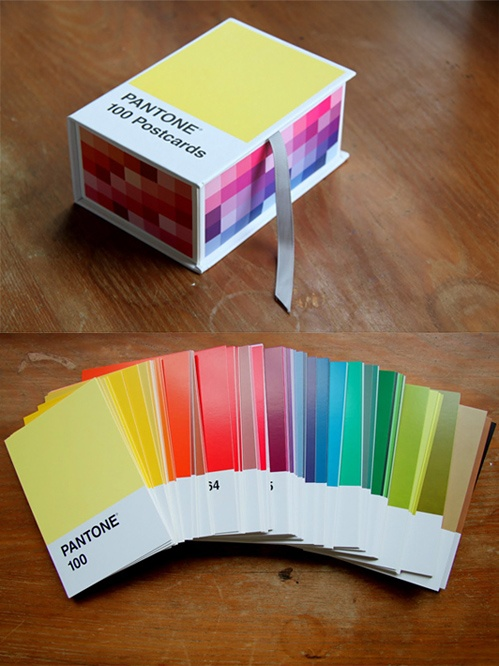 pantone postcards | * kawaii