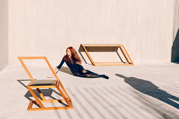 Gone With The Wind: Tilting Furniture by XYZ | Yatzer