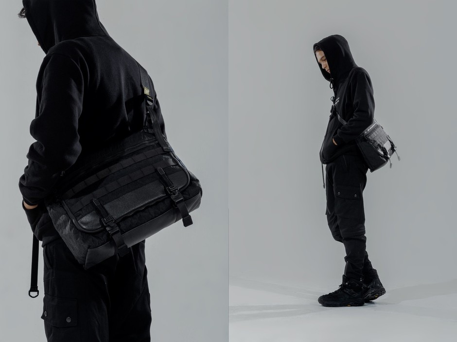 "ORBITGear x LIVINGBONE ""Not SS/AW"" Messenger Bag [ X-Pac ] - ORBIT Gear Global"