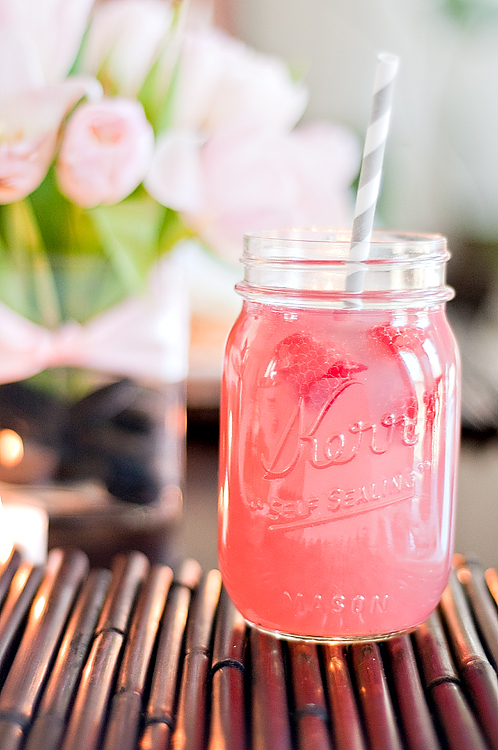 A cup of Mai: Raspberry Beer Cocktail