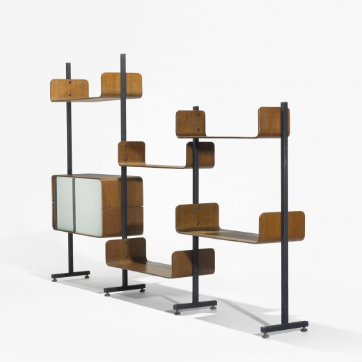300: Franco Campo and Carlo Graffi / shelving unit < Modern Design, 12 October 2010 < Auctions | Wright