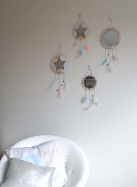Crystal Visions Dream Catcher by nice on Etsy