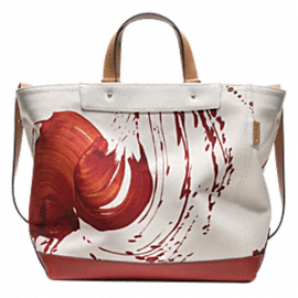 Limited Edition Men's Painted Totes from the James Nares for Coach Collection