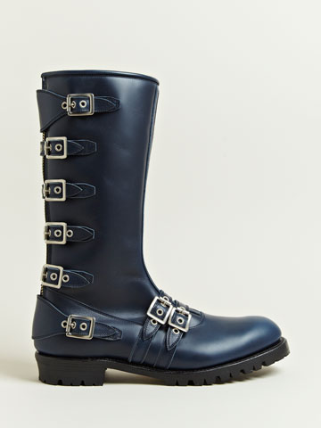Blackmeans Men's Multiple Buckle Boots | LN-CC