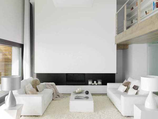Wood-Cladded Dream Home in Almunecar: Pure White   Freshome