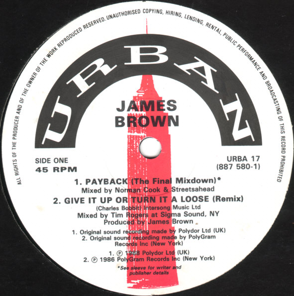 Images for James Brown - Payback (The Final Mixdown)