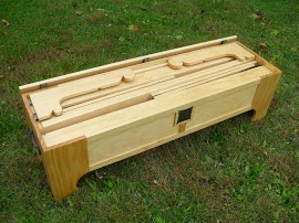 The box/bed
