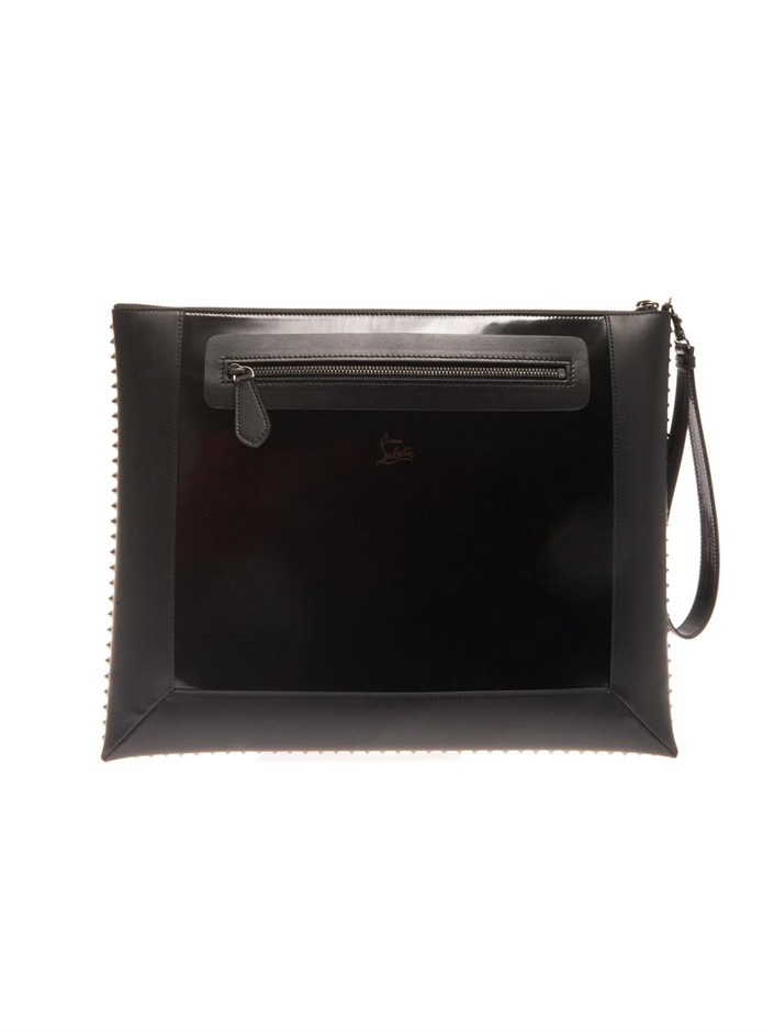Peter pouch document holder | Christian Louboutin | MATCHESFAS...