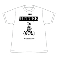 THE FUTURE IS NOW_WHITE / toe - toe - mail order