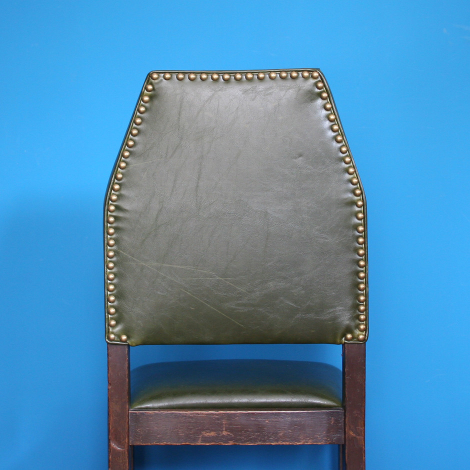 ART DECO leather chair / アールデコ レザーチェア